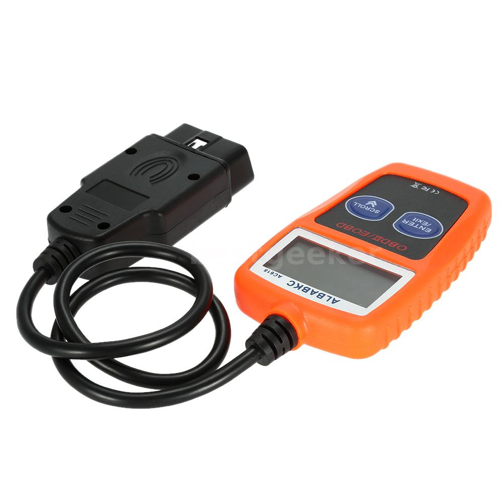 AC618 OBDII OBD Auto Car Diagnostic Scan Tool Code Reader